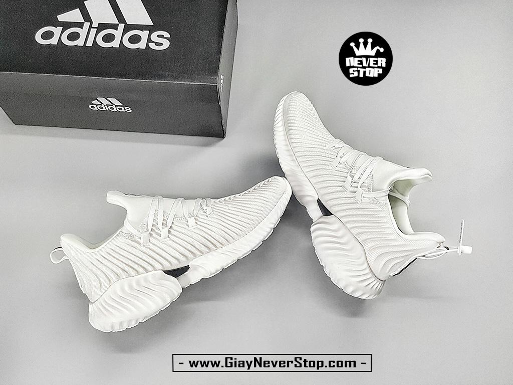 Giày tập gym Adidas Alpabounce Instinct trắng full hàng chất lượng cao giá tốt HCM