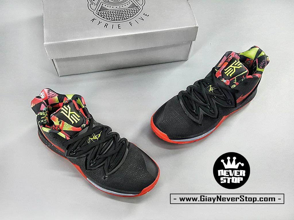 Giày NIKE KYRIE 5 ĐEN ĐỎ chuyên bóng rổ hàng sfake chuẩn đẹp giá tốt nhất HCM