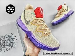 Giày NIKE KYRIE 5 KEM TÍM ĐỎ chuyên bóng rổ hàng sfake chuẩn đẹp giá tốt nhất HCM