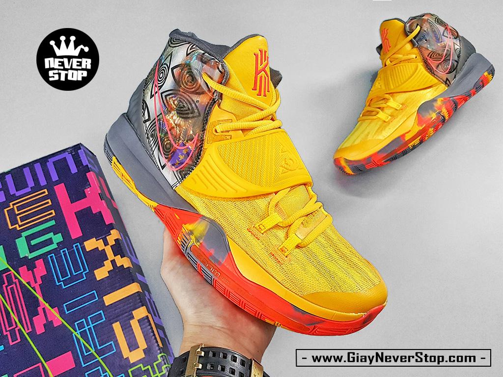 Giày NIKE KYRIE 6 BẮC KINH VÀNG CAM chuyên bóng rổ sân outdoor hàng sfake chất lượng cao giá tốt nhất HCM