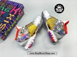 Giày NIKE KYRIE 6 TRẮNG VÀNG ĐỎ chuyên bóng rổ sân outdoor hàng sfake chất lượng cao giá tốt nhất HCM