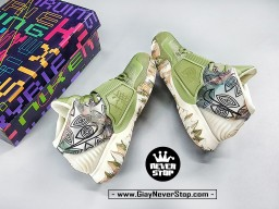 Giày NIKE KYRIE 6 THƯỢNG HẢI Xanh Lá chuyên bóng rổ sân outdoor hàng sfake chất lượng cao giá tốt nhất HCM