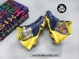 Giày NIKE KYRIE 6 ĐÀI LOAN Xanh Vàng chuyên bóng rổ sân outdoor hàng sfake chất lượng cao giá tốt nhất HCM