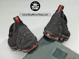 Giày NIKE LEBRON 16 ĐEN ĐỎ bóng rổ nam hàng sfake chuẩn chất lượng cao hàng đẹp giá tốt nhất HCM