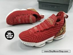 Giày NIKE LEBRON 16 ĐỎ DA BEO bóng rổ nam hàng sfake chuẩn chất lượng cao hàng đẹp giá tốt nhất HCM