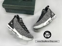 Giày NIKE LEBRON 16 XÁM OREO bóng rổ nam hàng sfake chuẩn chất lượng cao hàng đẹp giá tốt nhất HCM