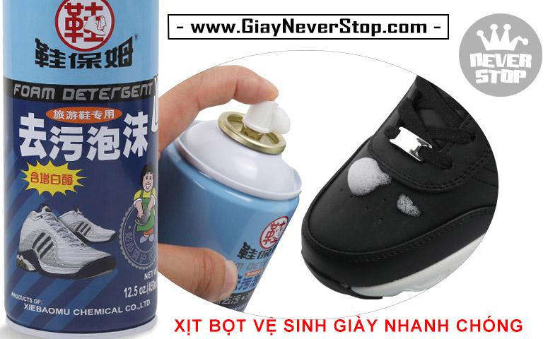 Dụng cụ vệ sinh chà giày sneakers siêu sạch tẩy ố khử mùi hiệu quả giá cực tốt HCM