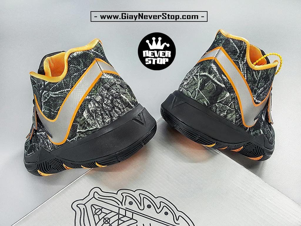 Giày Kyrie 5 Đen Cam chuyên bóng rổ hàng chuẩn sfake giá tốt NeverStopShop