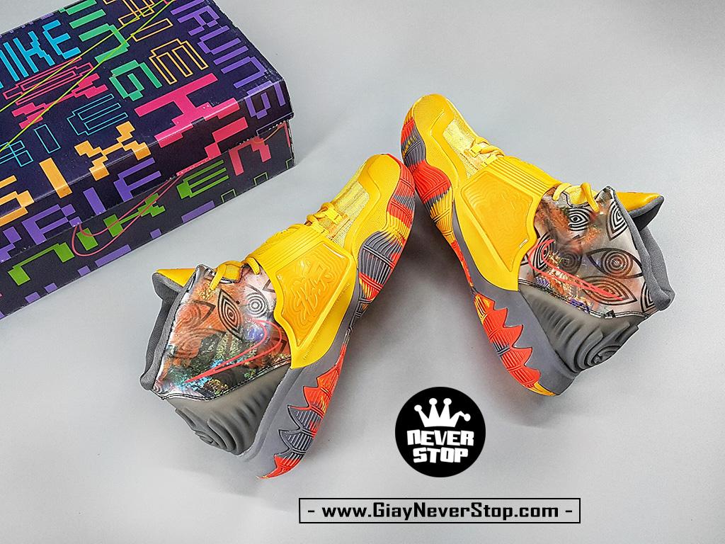 Giày Kyrie 6 Bắc Kinh Vàng Cam sfake chuẩn đẹp giá tốt HCM