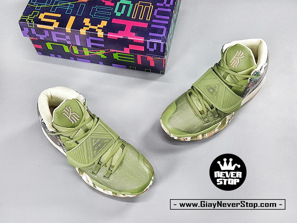 Giày Kyrie 6 Thượng Hải Xanh Lá sfake chuẩn đẹp giá tốt HCM