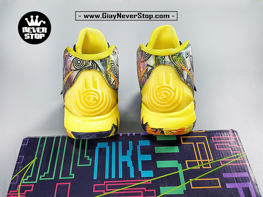 Giày Kyrie 6 Đài Loan Xanh Vàng sfake chuẩn đẹp giá tốt HCM