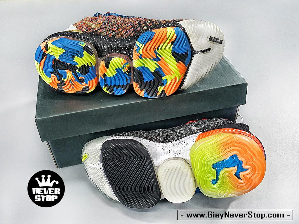 Giày LEBRON 16 WHAT THE thể thao bóng rổ nam hàng sfake chuẩn đẹp giá rẻ HCM